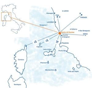 Mappa Cecina