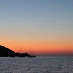 Tramonto Barcaggio